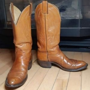 2/$25 Justin Leather Cowboy Boots!